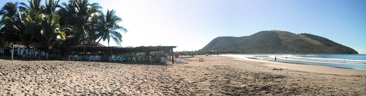 Restaurants and Cerro de Guamilule