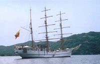 Ecuadorian Navy Tall Ship GUAYAS
