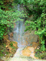 Waterfall in Ixtapa