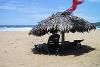 Palapa on Playa Blanca