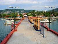 The Zihuatanejo Municipal Pier